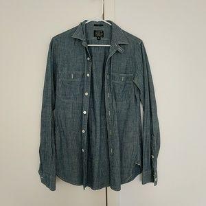 J. Crew Long Sleeve Button Up Shirt - Slim XS